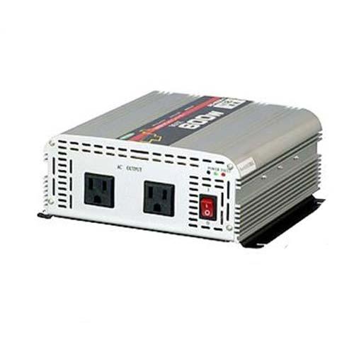 日動 DC/ACインバーター 日動 SIS-600N-A(出力600W/12V/矩形波), もみじ饅頭のやまだ屋:1b190560 --- sunward.msk.ru
