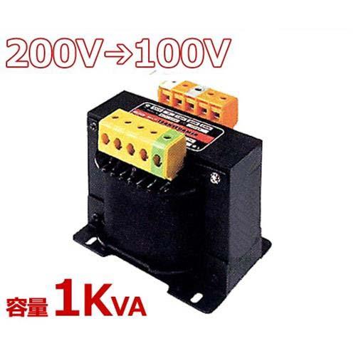 スワロー 複巻きダウントランス M21-1KE (200V⇒100V/容量1KVA/単体型)