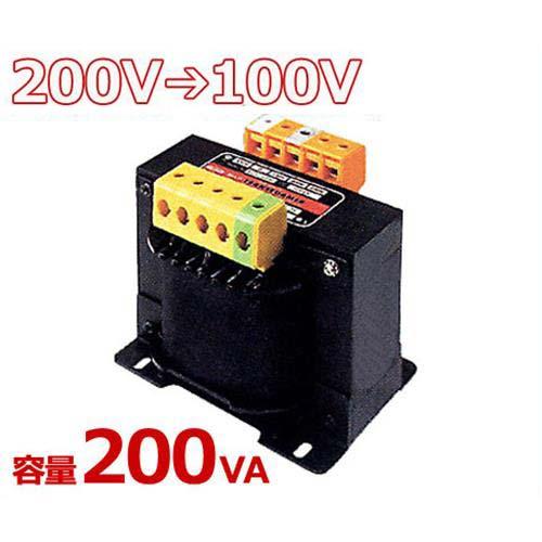スワロー 複巻きダウントランス M21-200E (200V⇒100V/容量200VA/単体型)
