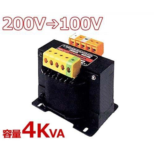 スワロー 複巻きダウントランス M21-4KE (200V⇒100V/容量4KVA/単体型)