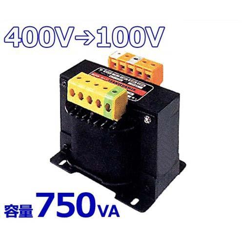 スワロー 複巻きダウントランス M41-750E (400V⇒100V/容量750VA/単体型) [変圧器 降圧トランス]