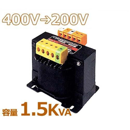 スワロー 複巻きダウントランス M42-1.5KE (400V⇒200V/容量1.5KVA/単体型)