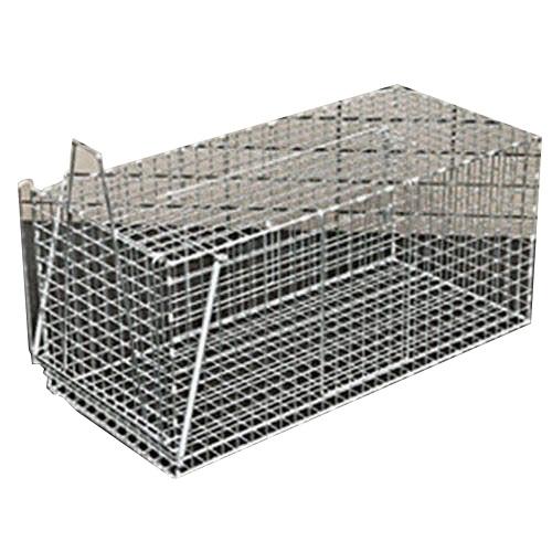 小動物捕獲器 アニマルキャッチャー L型 ツリエサ式 (金網製)