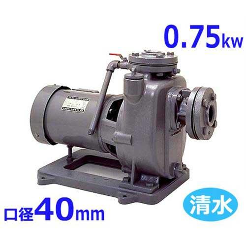 寺田ポンプ 自吸式モーターポンプ MPJ3-50.71E・MPJ3-60.71E (口径40mm/三相200V/0.75kw) [テラダポンプ 設備用ポンプ 陸上ポンプ]