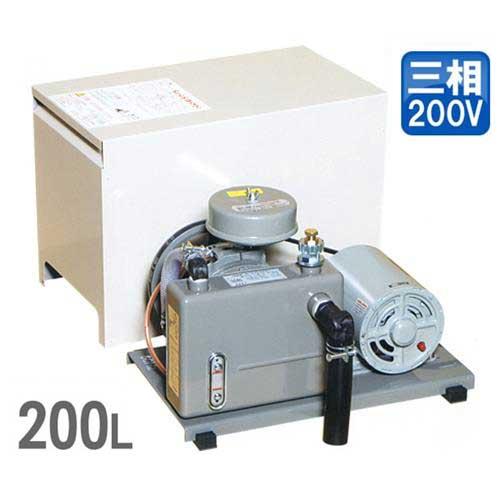東浜 ロータリーブロアー SD-200s 三相200V250Wモーター付き (吐出量200L) [浄化槽 ブロアー ブロワー]