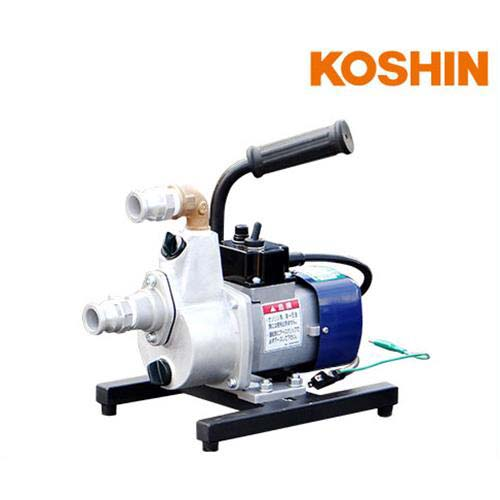 工進 油 対応ポンプ FS-100D型 (AC100V用) 《持ち手+ポンプベース付き》 [koshin]