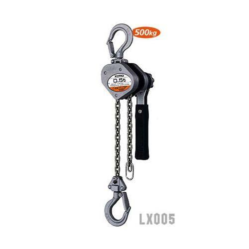 キトー レバーブロック LX005 (定格荷重500kg)