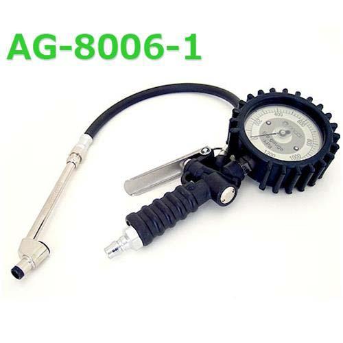 旭産業 エアーチャック ゲージボタル AG-8006-1 (6キロ対応/小口径ストレートチャック)