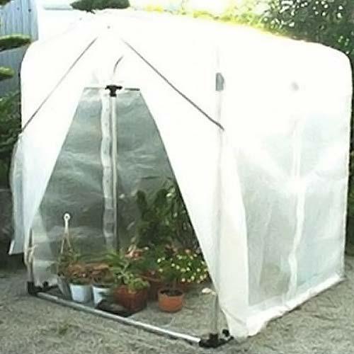 アルミフレーム 園芸温室 フラワー温室 FO-5型 (0.5坪)
