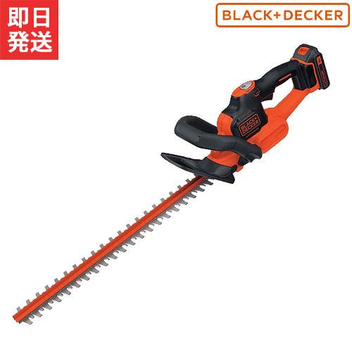 ブラック&デッカー 充電式ヘッジトリマー GTC1850LN (18Vバッテリー+急速充電器セット) [BLACK&DECKER]