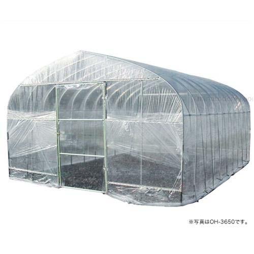 ビニールハウス 菜園ハウス四季 OH-3650 (5.5坪/蝶番式扉) [南栄工業 ナンエイ ビニール温室]