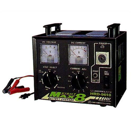 デンゲン 多連結充電器 HRD-9610 (30時間電子タイマー付) [バッテリーチャージャー]