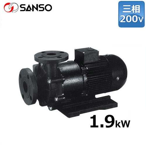 三相電機 マグネットポンプ PMD-22013 (大型/三相200V1.9kW/ケミカル・海水用)