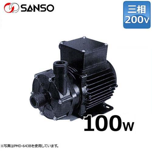 三相電機 マグネットポンプ PMD-643B2 (小型/三相200V100W/ケミカル・海水用)