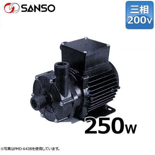 三相電機 マグネットポンプ PMD-2573B2 (小型/三相200V250W/ケミカル・海水用)