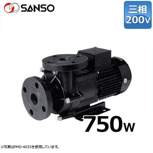 三相電機 マグネットポンプ PMD-7533A2X (三相200V750W/50Hz/ケミカル・海水用)口径40A