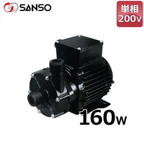 【同梱不可】 三相電機 マグネットポンプ (単相200V160W/ケミカル・海水用):ミナト電機工業 PMD-1562B2-DIY・工具