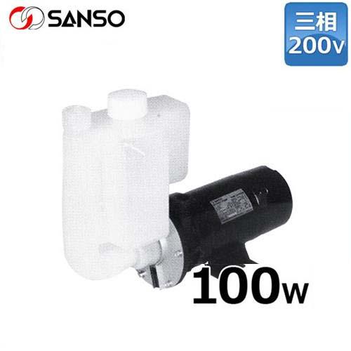 三相電機 自吸式 マグネットポンプ PMDS-643B2P (三相200V100W/ケミカル・海水用)