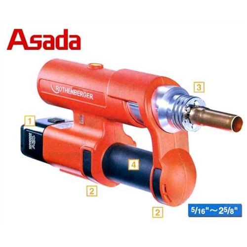 アサダ ローマックス R15701 外径5/16インチ~2-5/8インチ 肉厚2.0mm用