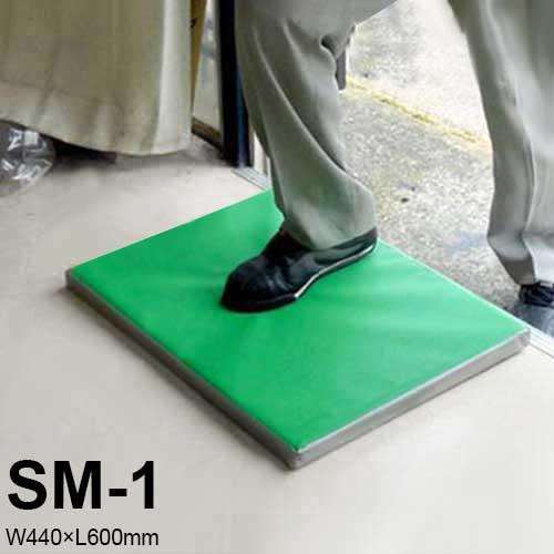 南栄工業 除菌・消毒マット SM-1 マット単品 (W440×L600mm)