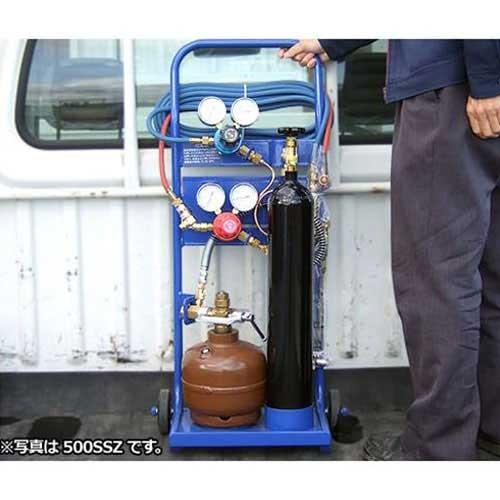 スズキッド 携帯ガス溶接切断機 1500SLZ ガスタンクミニ (運搬台車付)