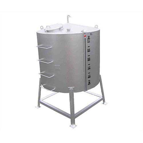 サンダイヤ 重油用 大容量型オイルタンク YMA-1900G1 (縦型/耐震仕様/水張試験確認済証付)