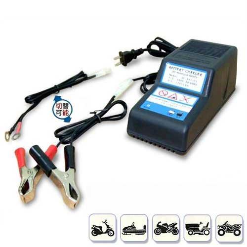 NBC(日本ブレード) バイクバッテリー用充電器 SC-A0112J (12V専用) [バッテリーチャージャー]