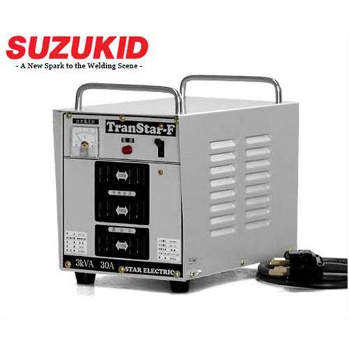 スズキッド 複巻ダウントランス STH-312 (連続30A) [スター電器 SUZUKID 変圧器 降圧トランス]