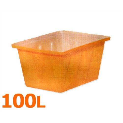 スイコー 角型容器 K-100 (フタなし/容量100L) [角型タンク K型容器 角槽]