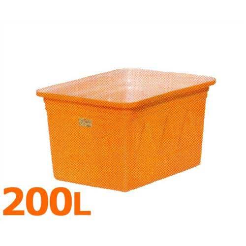 スイコー 角型容器 K-200 (フタなし/容量200L) [角型タンク K型容器 角槽]