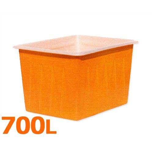 スイコー 角型容器 K-700 (フタなし/容量700L) [角型タンク K型容器 角槽]