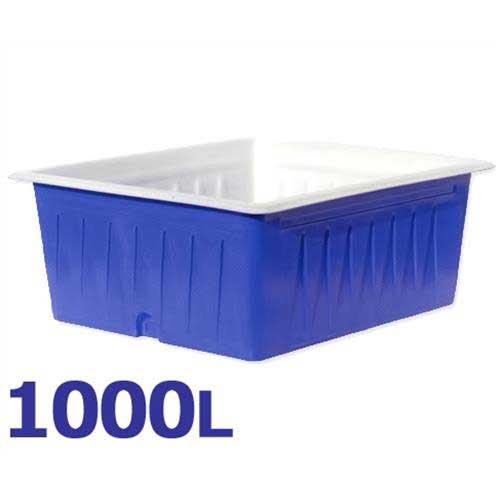 スイコー 角型容器 KL-1000 (容量1000L) [角型タンク KL型容器 角槽]