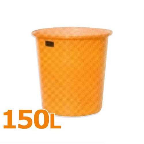 [最大1000円OFFクーポン] スイコー 丸型タンク M型容器 M-150 (フタなし/容量150L) [丸型容器]