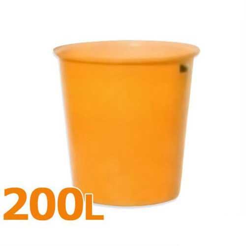 スイコー 丸型タンク M型容器 M-200 (フタなし/容量200L) [丸型容器]