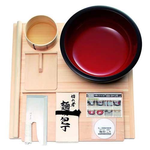 本格うどん・そば用 麺打ちセット 雅 (プロ用) A-1550 (入門DVD付)