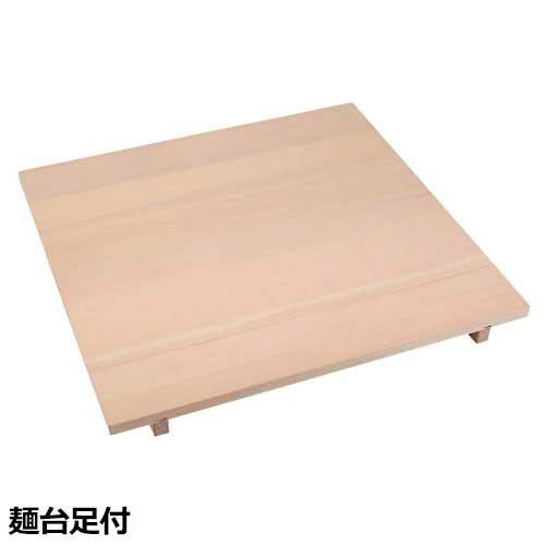 そば・うどん用 麺切り台 麺台足付 A-1080 (麺棒付き)