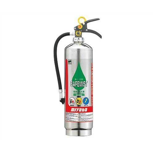 宮田工業 強化液(中性)消火器 セーフミスト SKV3DS 《リサイクルシール代込》