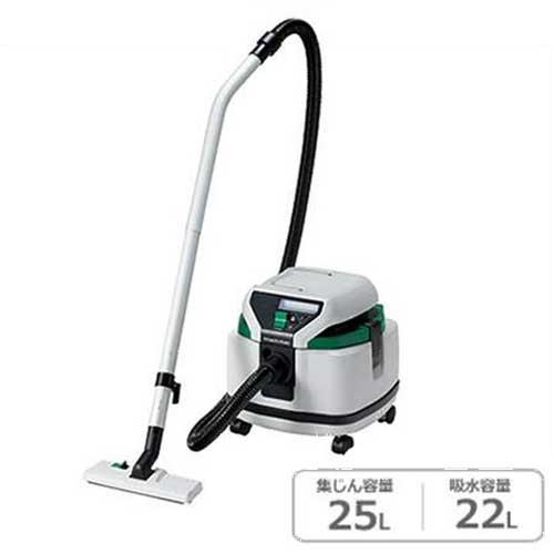 日立工機 業務用掃除機(乾湿両用) RP250SB (一般清掃用/集じん容量25L/吸水容量22L/単動)