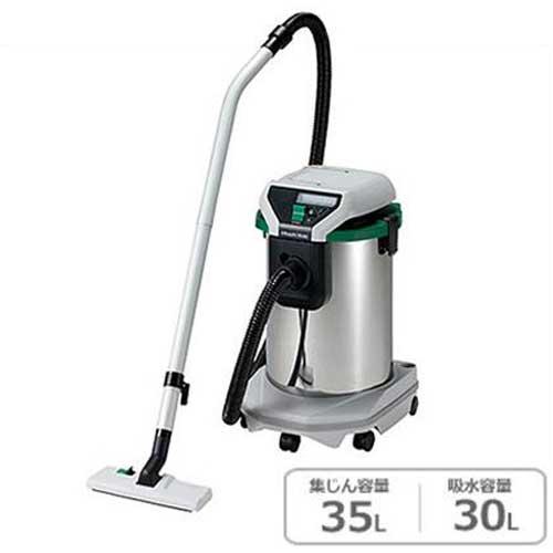 HiKOKI 日立工機 業務用掃除機(乾湿両用) RP350SE (一般清掃用/集じん容量35L/吸水容量30L/単動)