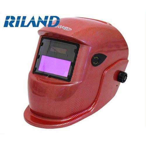 RILAND(リランド) 自動遮光面 X601紅(レッド/遮光度調節機能付き)