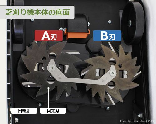 """供田中剪草机TML25SH2使用的""""旋转刃、A刃""""[剪草机][r10][s1-060]"""