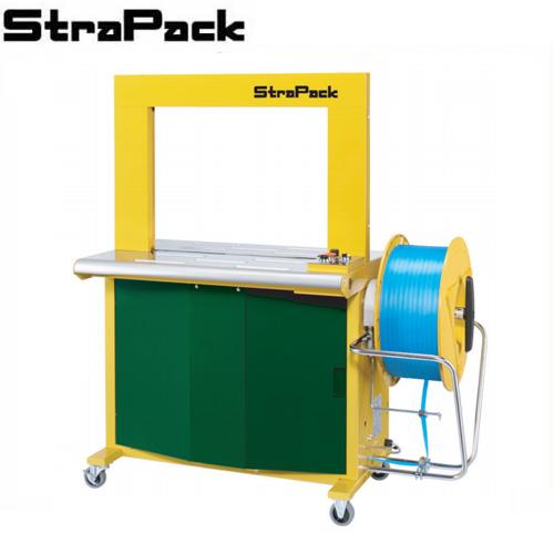 ストラパック 自動梱包機 標準型 RQ-800 (単相100V/アーチ寸法 幅650×高さ500mm) [STRAPACK 梱包機]