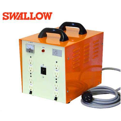 スワロー 三相200V複巻式 大容量型ダウントランス 3SSTB-4KT (容量4KVA/大容量端子盤付き)