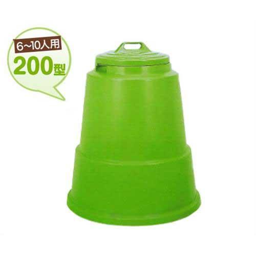 新輝合成 家庭用 生ゴミ処理容器 ミラクルコンポ 200型 (6~10人用)