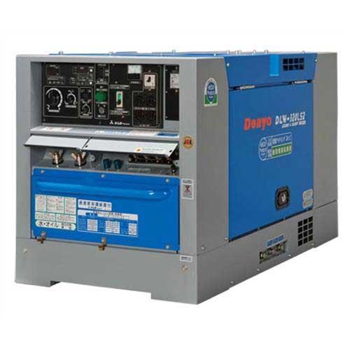 デンヨー 防音型ディーゼルエンジン溶接機 DLW-320LS2 (溶接発電兼用)