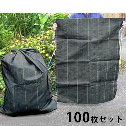 [最大1000円OFFクーポン] 大型 クチヒモ付きガラ袋 《100枚セット》 (長さ1280mm×幅960mm)