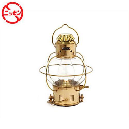 [最大1000円OFFクーポン] ニッセン マリンランプ ボートランプ1型 (オイルランプ/真鍮板製) [ランタン]