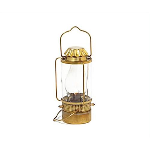 ニッセン マリンランプ ライフボートランプ (オイルランプ/真鍮板製) [ランタン ランプ]