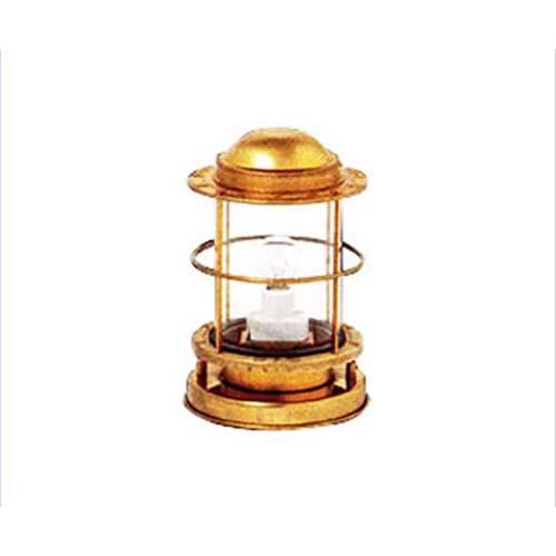 ニッセン マリンランプ 『直置式ポーチライト』 (電気式/真鍮板製)