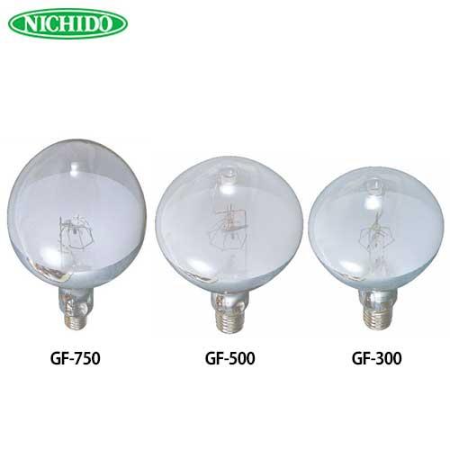 日動 投光器交換球 (バラストレス球/水銀灯) GF-500 [安全水銀灯GF-500対応]